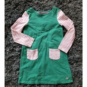 Mini boden cotton dress 9-10Y